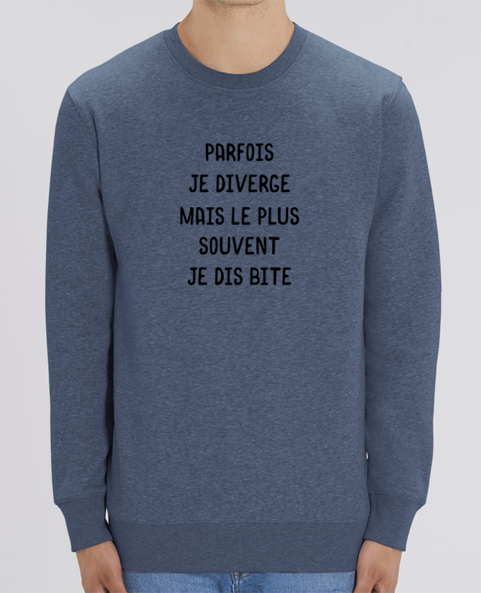 Sweat-shirt Parfois je diverge cadeau Par Original t-shirt