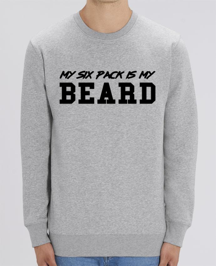 Sweat-shirt My six pack is my beard Par tunetoo