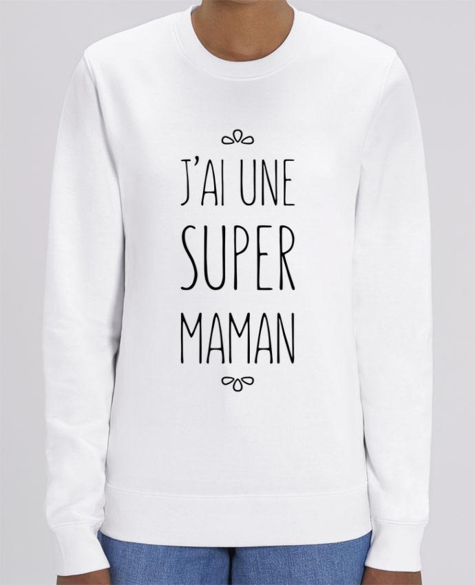 Sweat-shirt J'ai une super maman Par tunetoo
