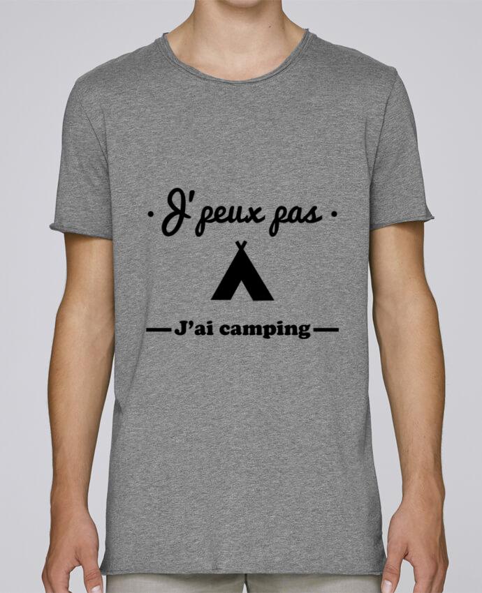 T-shirt Homme Oversized Stanley Skates J'peux pas j'ai camping par Benichan