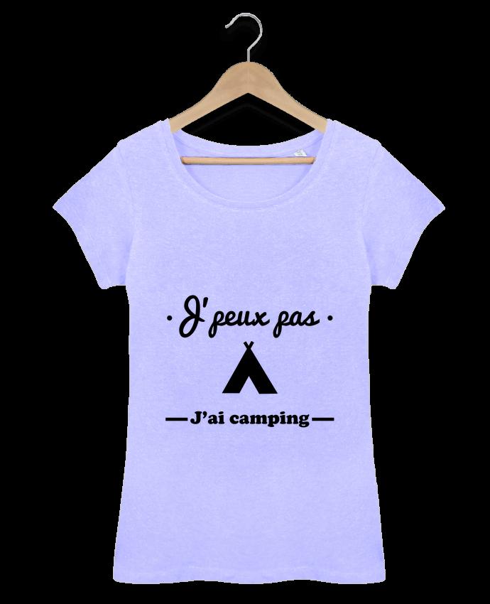 T-shirt Femme Stella Loves J'peux pas j'ai camping par Benichan