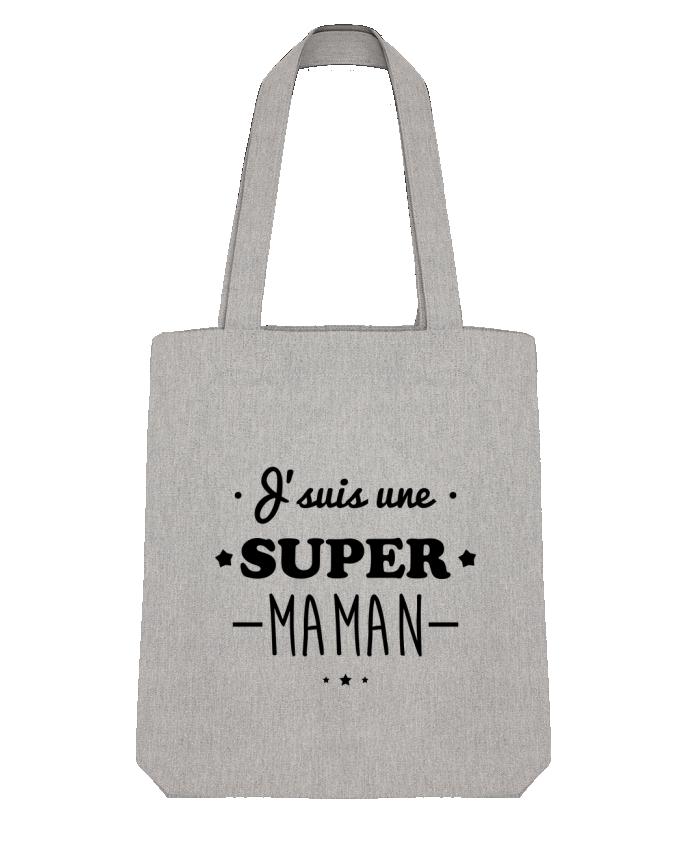 Tote Bag Stanley Stella J'suis une super maman, cadeau fête des mères par Benichan