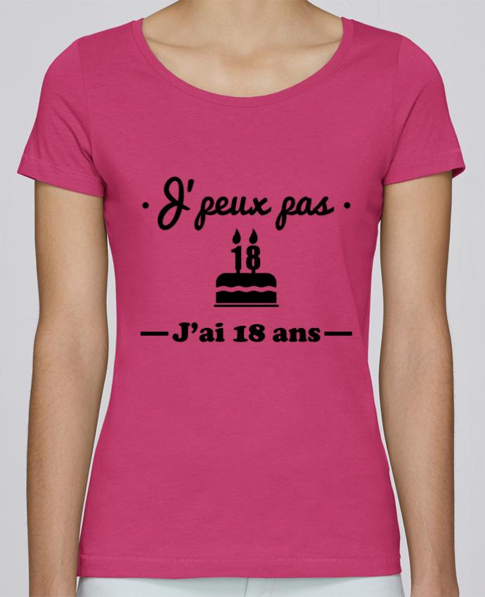 T-shirt Femme Stella Loves J'peux pas j'ai 18 ans, cadeau d'anniversaire par Benichan