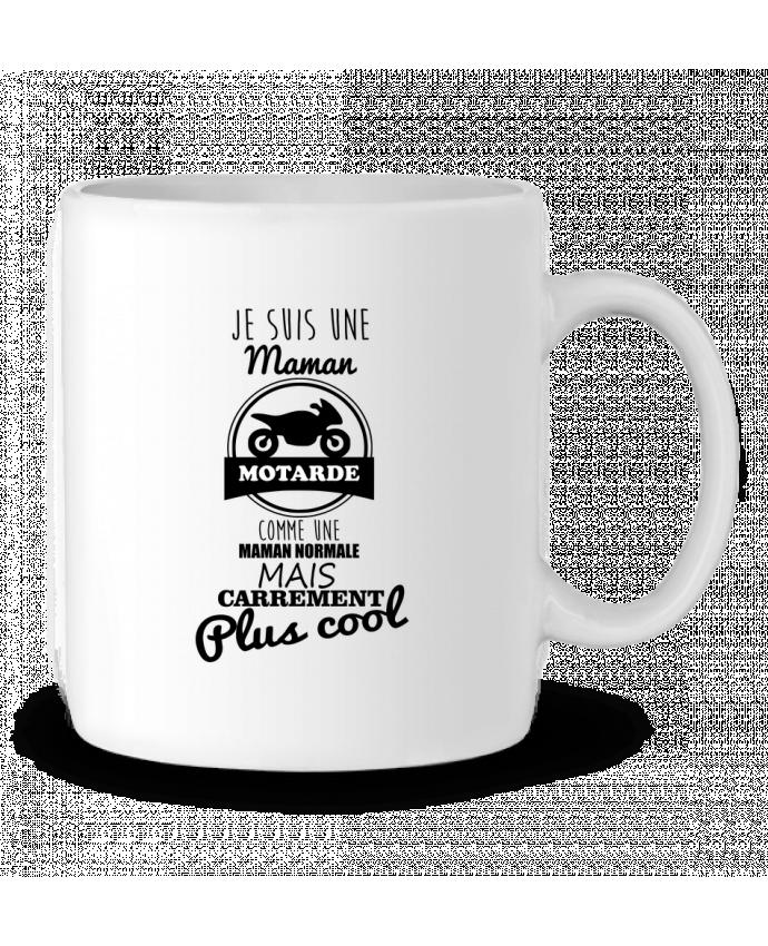 Mug en Céramique Maman motarde, cadeau mère, moto par Benichan