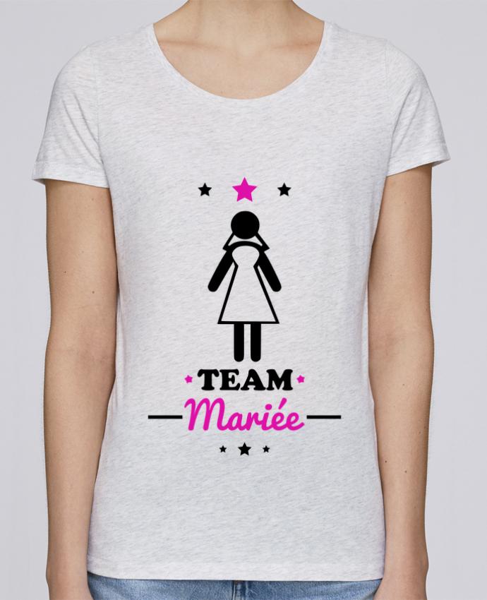 T-shirt Femme Stella Loves Team mariée : enterrement de vie de jeune fille par Benichan