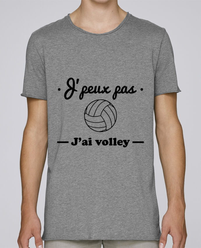 T-shirt Homme Oversized Stanley Skates J'peux pas j'ai volley , volleyball, volley-ball par Benichan