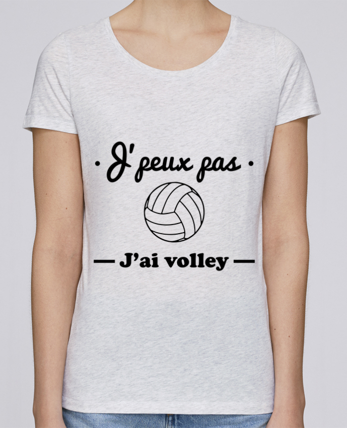 T-shirt Femme Stella Loves J'peux pas j'ai volley , volleyball, volley-ball par Benichan