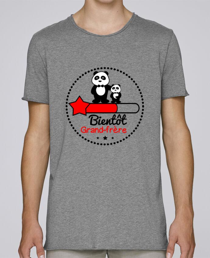 T-shirt Homme Oversized Stanley Skates Bientôt grand-frère , futur grand frère par Benichan