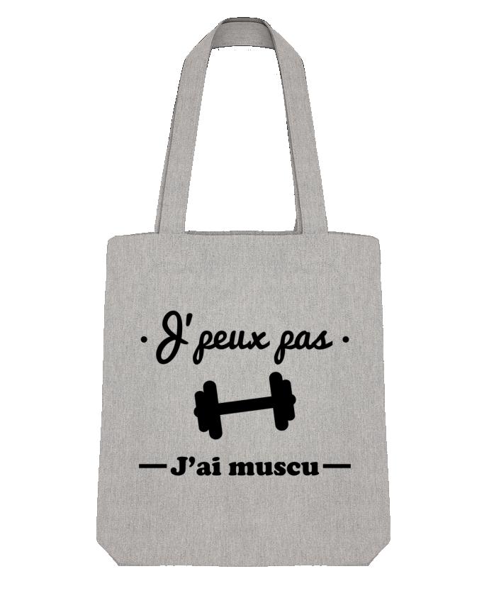 Tote Bag Stanley Stella J'peux pas j'ai muscu, musculation par Benichan