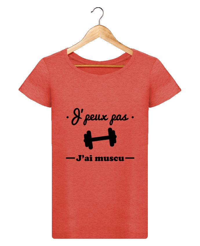 T-shirt Femme Stella Loves J'peux pas j'ai muscu, musculation par Benichan