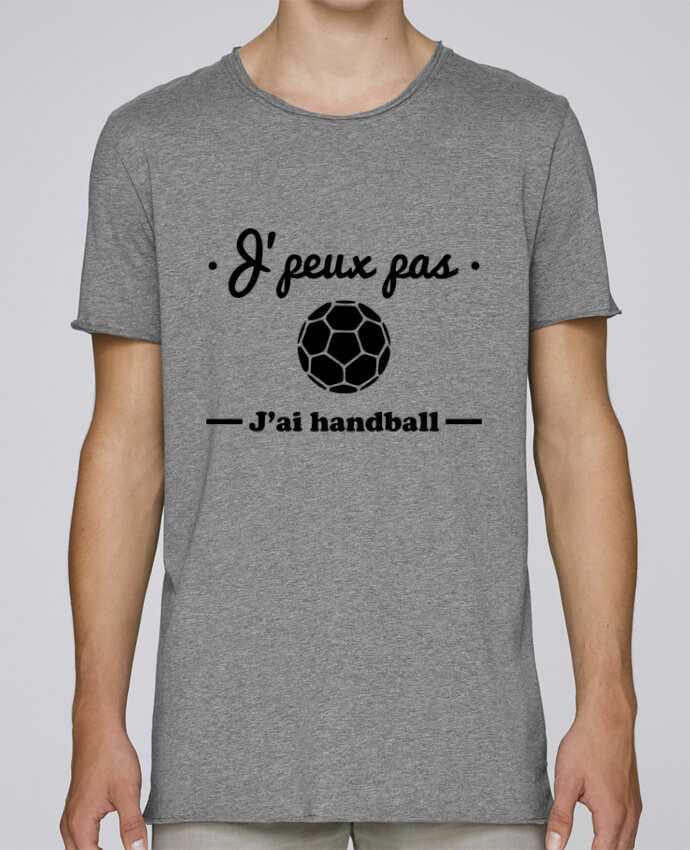 T-shirt Homme Oversized Stanley Skates J'peux pas j'ai handball ,  tee shirt handball, hand par Benicha