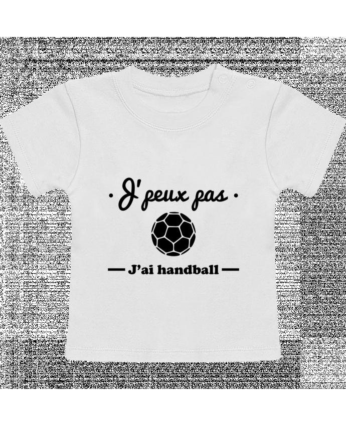 T-Shirt Bébé Manches Courtes J'peux pas j'ai handball ,  tee shirt handball, hand manches courtes du designer Beni