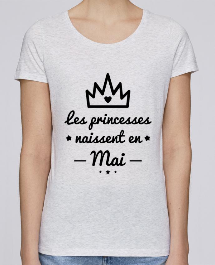 T-shirt Femme Stella Loves Les princesses naissent en mai, princesse, cadeau d'anniversaire par Benichan