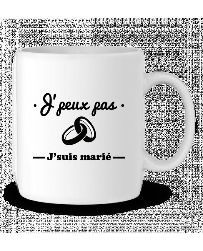 Mug en Céramique J'peux pas j'suis marié par Benichan