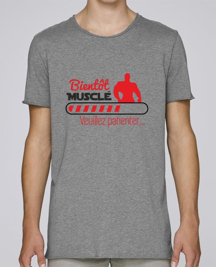 T-shirt Homme Oversized Stanley Skates Bientôt musclé, musculation, muscu, humour par Benichan