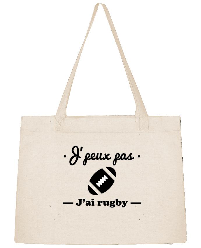 Sac Cabas Shopping Stanley Stella J'peux pas j'ai rugby par Benichan
