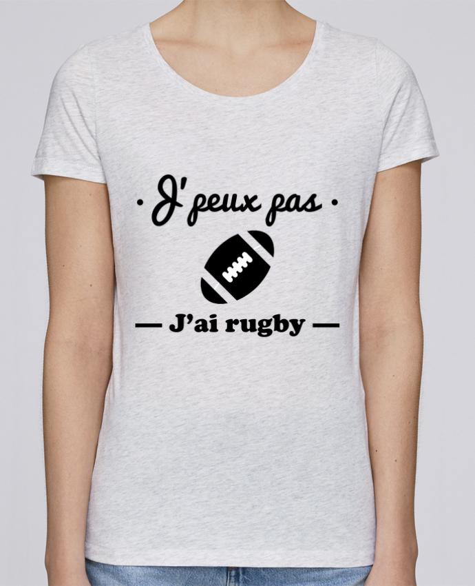 T-shirt Femme Stella Loves J'peux pas j'ai rugby par Benichan