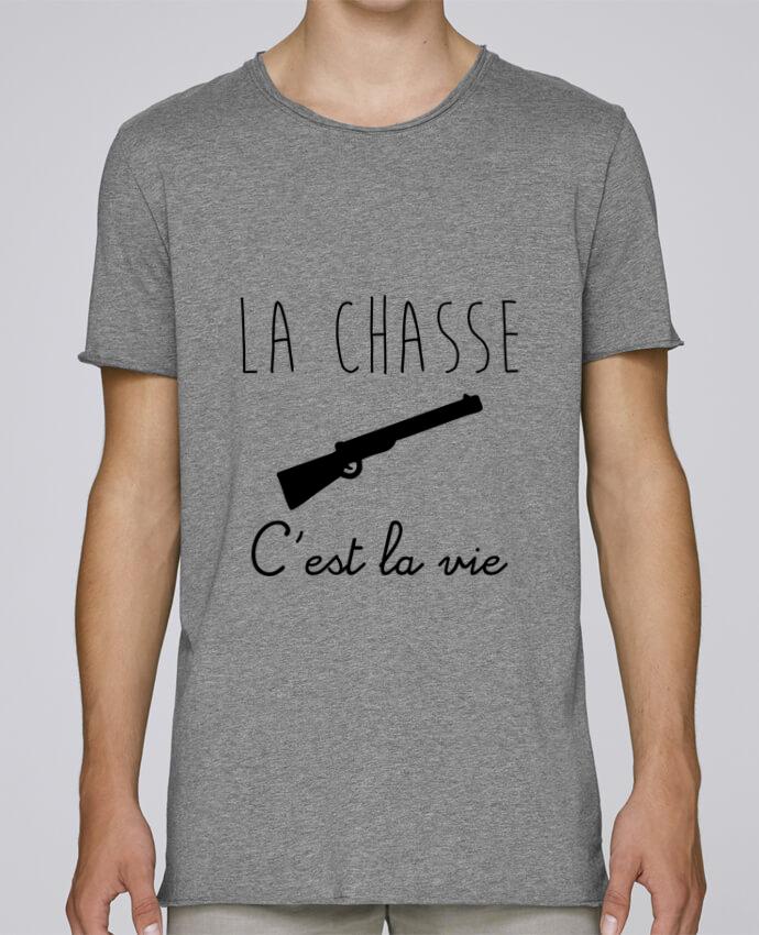 T-shirt Homme Oversized Stanley Skates La chasse c'est la vie, chasseur par Benichan