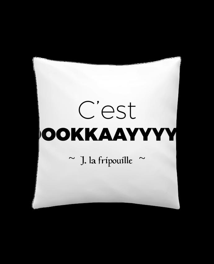 Coussin Synthétique Doux 41 x 41 cm oookkaayyyy ! par tunetoo
