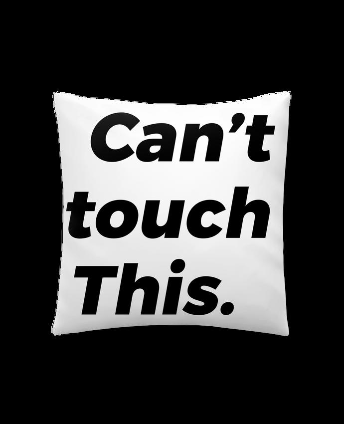 Coussin Synthétique Doux 41 x 41 cm can't touch this. par tunetoo