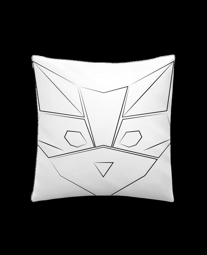 Coussin Synthétique Doux 41 x 41 cm Logo chat par Claire