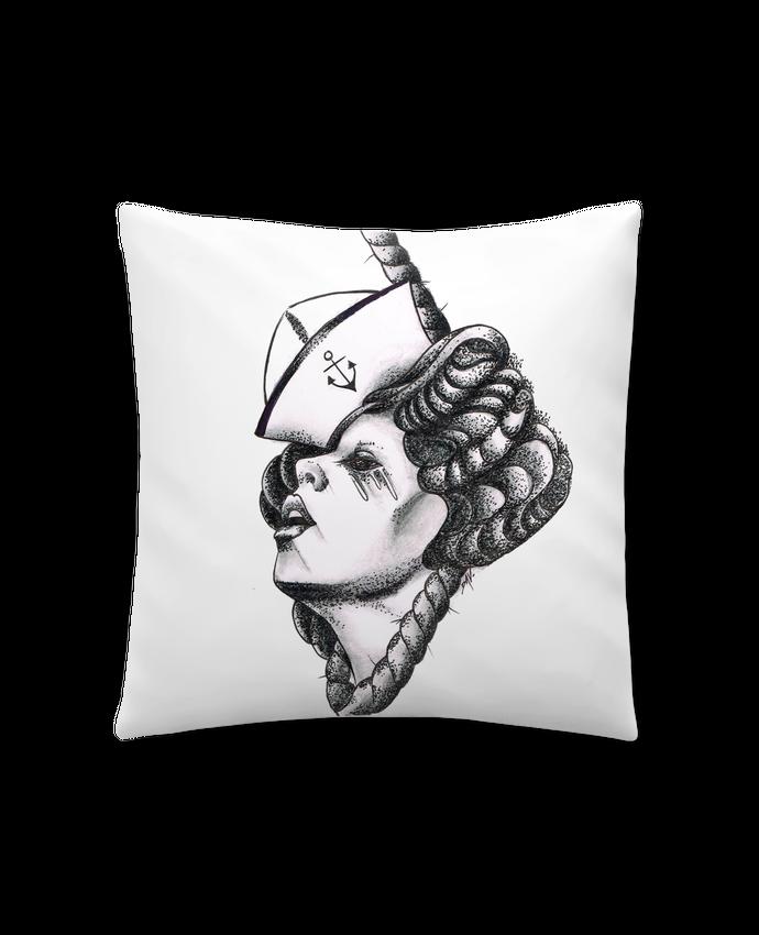 Coussin Synthétique Doux 41 x 41 cm Femme capitaine par david