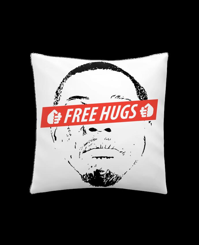 Coussin Synthétique Doux 41 x 41 cm Free Hugs par tunetoo