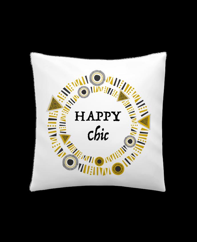 Coussin Synthétique Doux 41 x 41 cm Happy Chic par LF Design