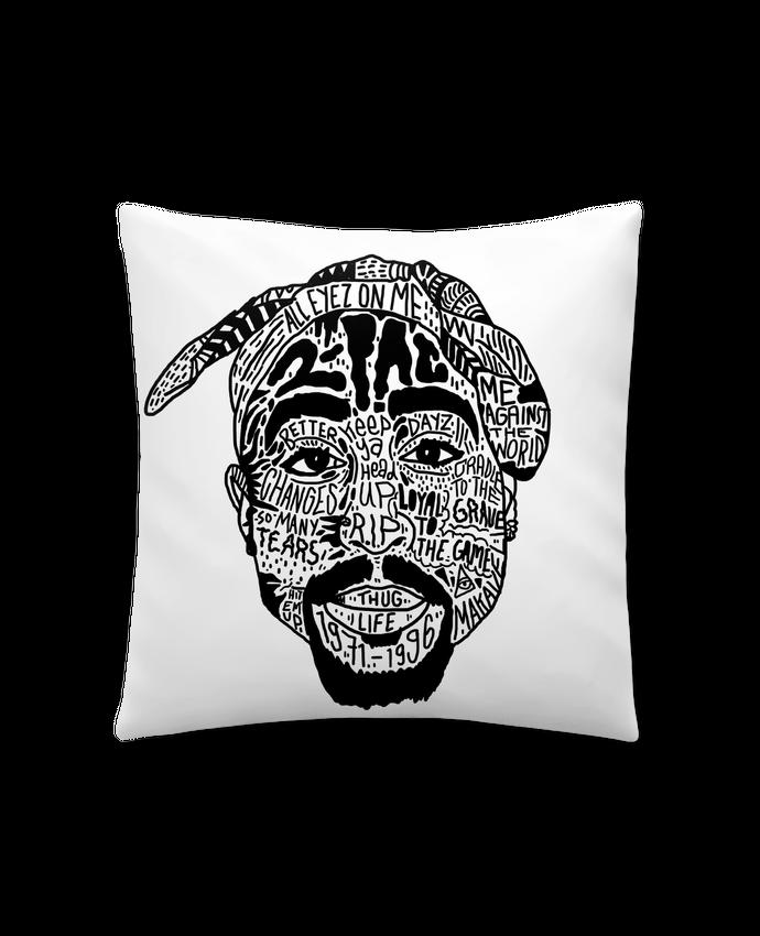 Coussin Synthétique Doux 41 x 41 cm Tupac par Nick cocozza