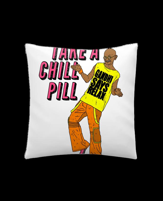 Coussin Synthétique Doux 41 x 41 cm Chill Pill par Nick cocozza