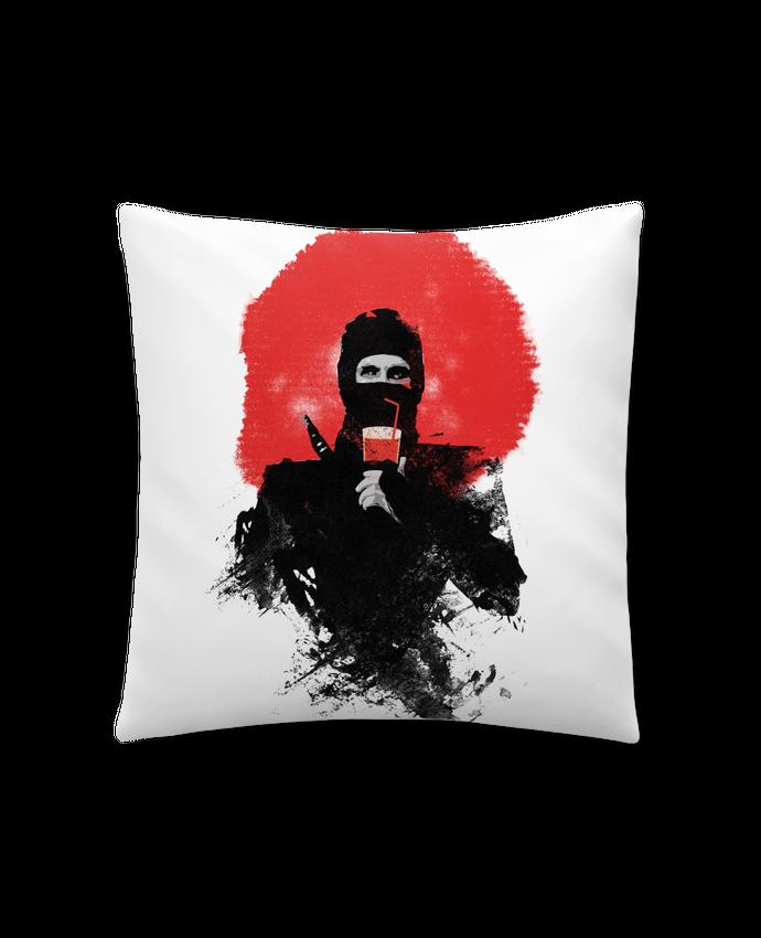 Coussin Synthétique Doux 41 x 41 cm American ninja par robertfarkas