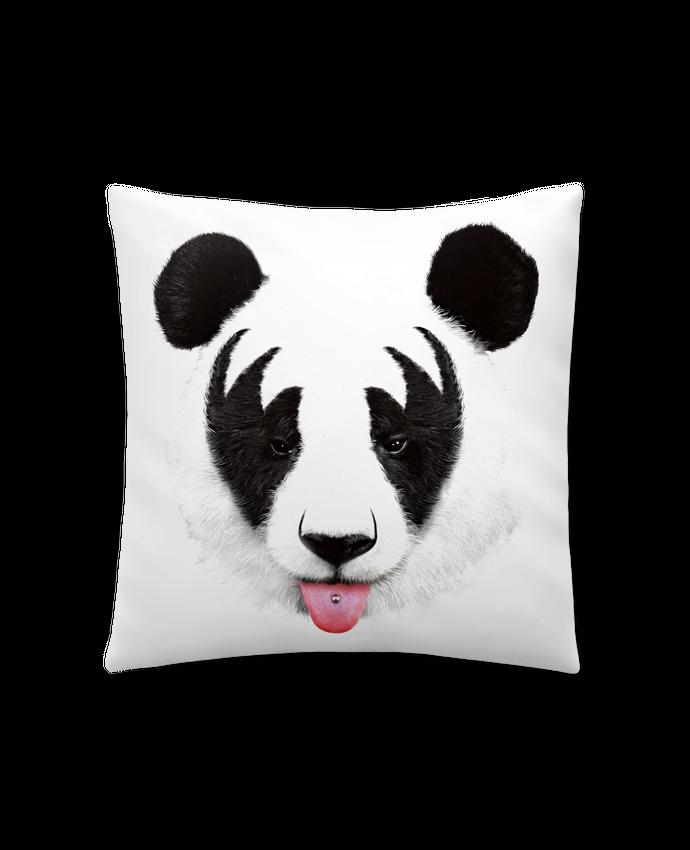 Coussin Synthétique Doux 41 x 41 cm Kiss of a panda par robertfarkas
