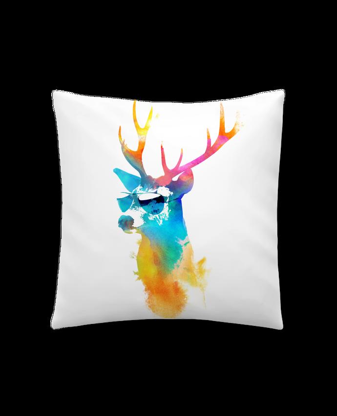Coussin Synthétique Doux 41 x 41 cm Sunny stag par robertfarkas