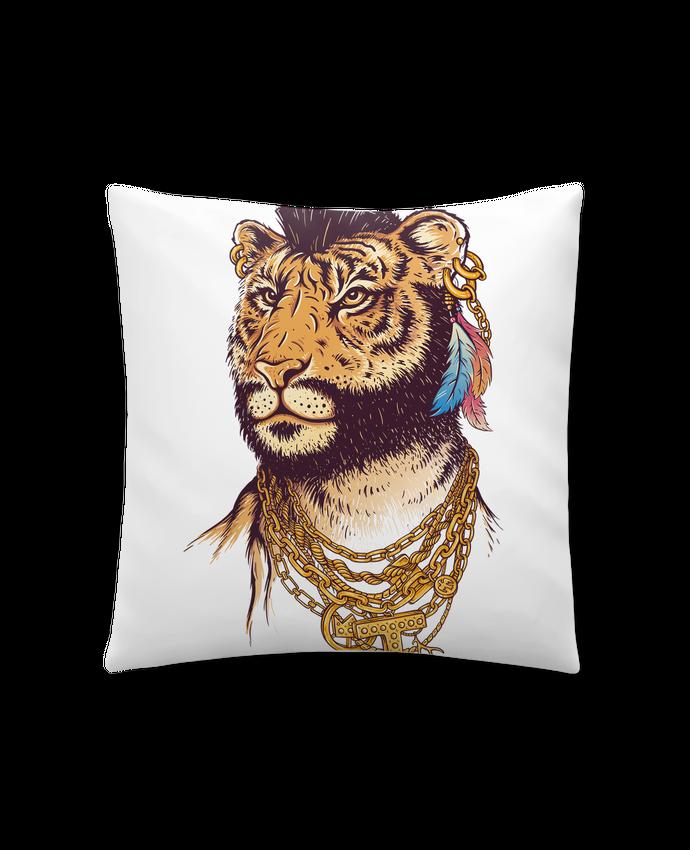 Coussin Synthétique Doux 41 x 41 cm Mr tiger par Enkel Dika