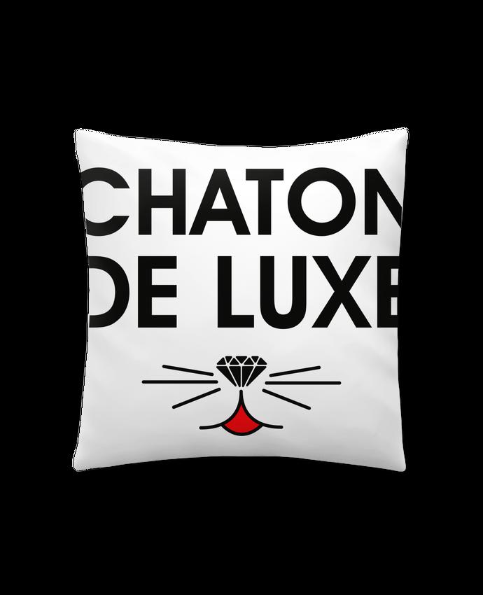 Coussin Synthétique Doux 41 x 41 cm Chaton de luxe par tunetoo