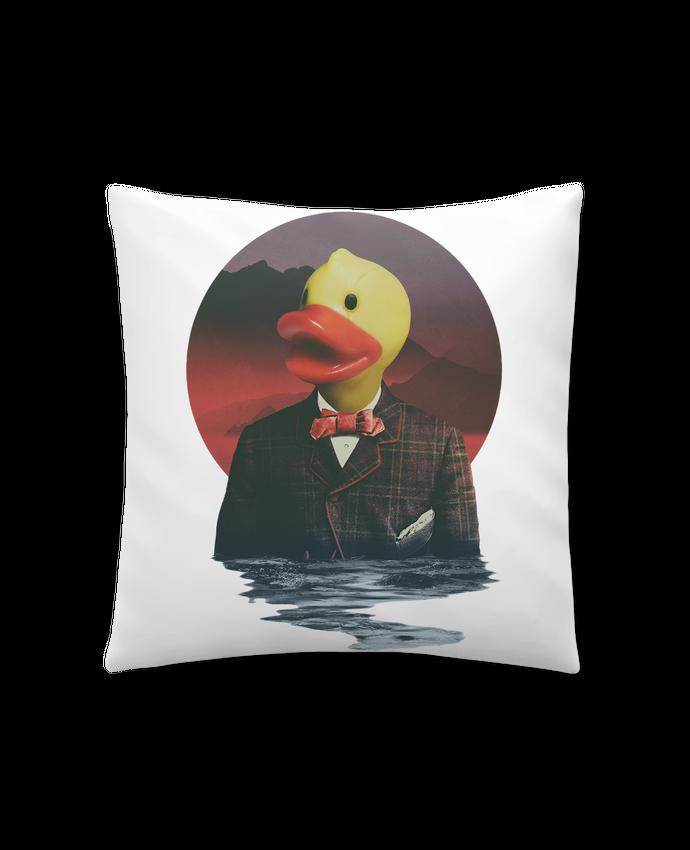 Coussin Synthétique Doux 41 x 41 cm Rubber ducky par ali_gulec