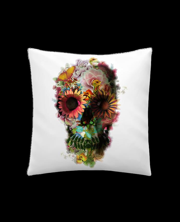 Coussin Synthétique Doux 41 x 41 cm Skull 2 par ali_gulec