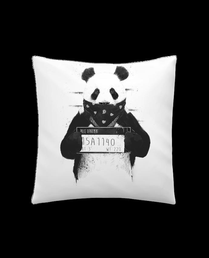 Coussin Synthétique Doux 41 x 41 cm Bad panda par Balàzs Solti