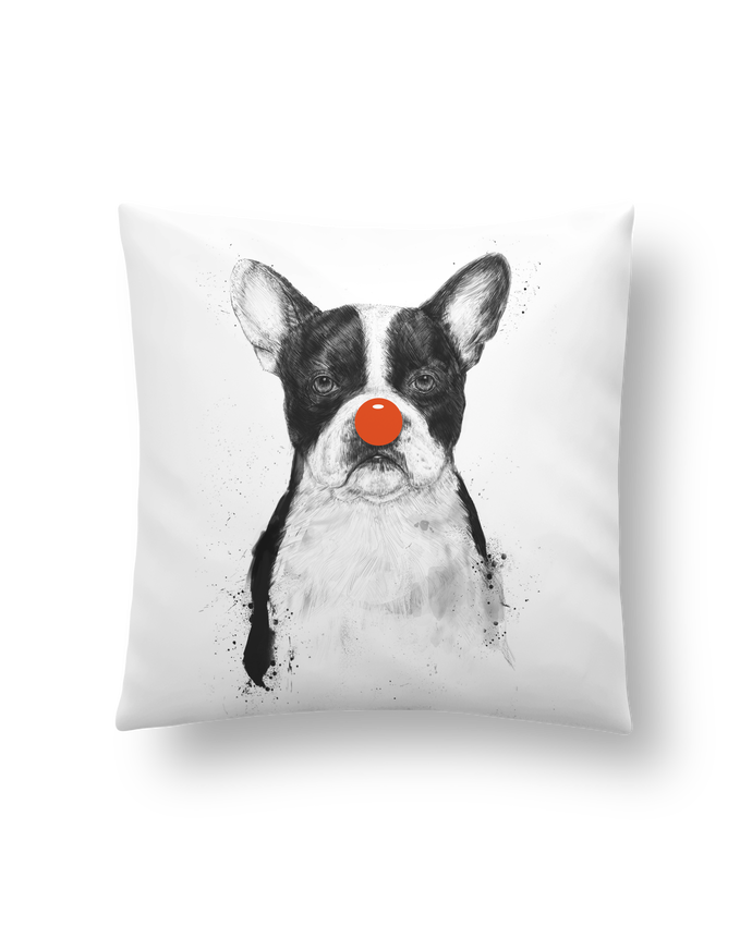 Coussin Synthétique Doux 41 x 41 cm IM not your Clown par Balàzs Solti