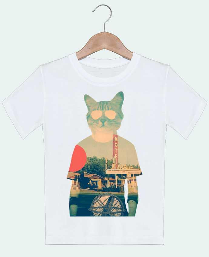 T-shirt garçon motif Cool cat ali_gulec