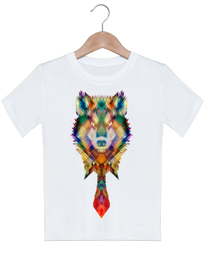 T-shirt garçon motif Corporate wolf ali_gulec