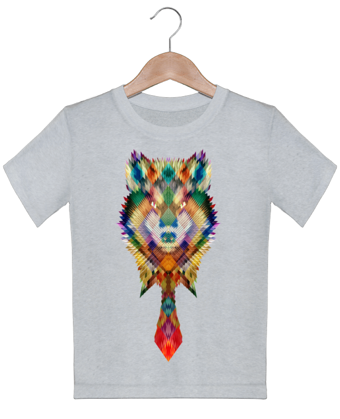 T-shirt garçon motif Corporate wolf ali_gulec