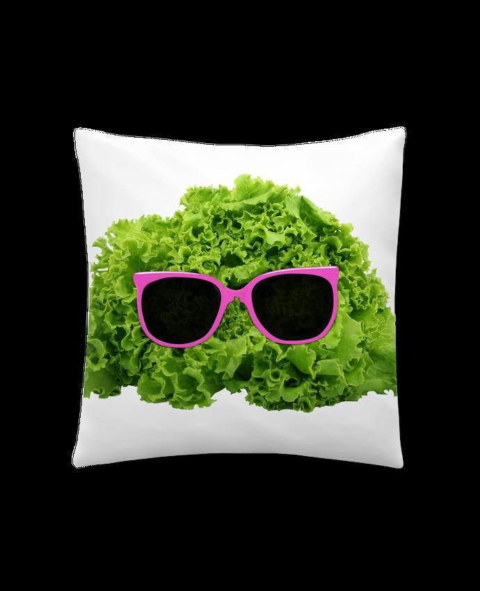 Coussin Synthétique Doux 41 x 41 cm Mr Salad par Florent Bodart