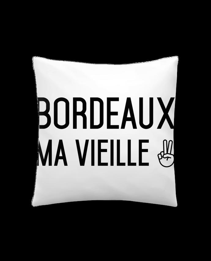 Coussin Synthétique Doux 41 x 41 cm Bordeaux ma vieille par tunetoo