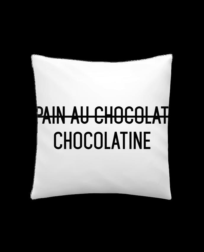 Coussin Synthétique Doux 41 x 41 cm Chocolatine par tunetoo