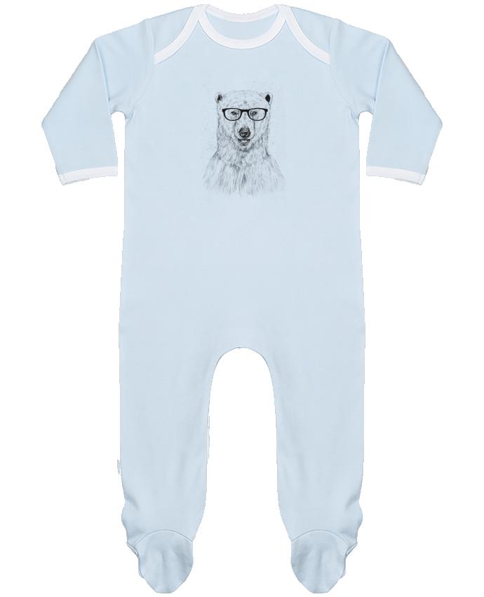 Pyjama Bébé Manches Longues Contrasté Geek Bear par Balàzs Solti 2e7e822681a