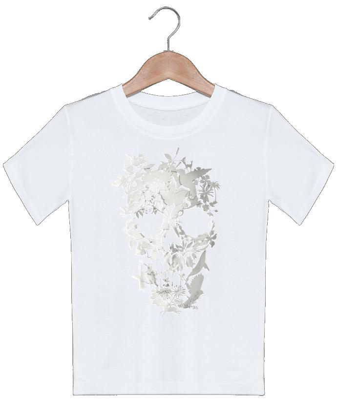 T-shirt garçon motif Simple Skull ali_gulec
