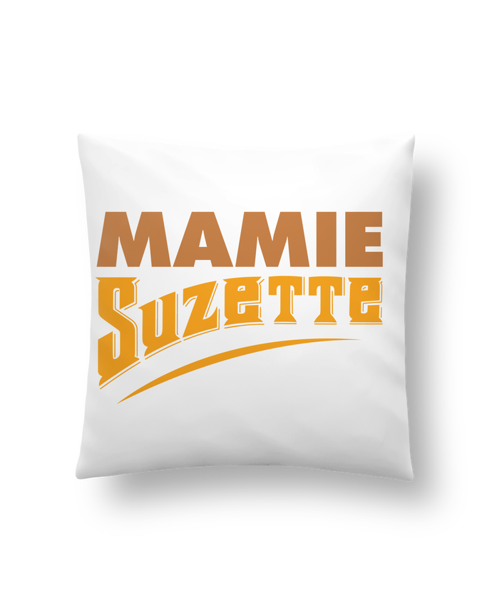 Coussin Synthétique Doux 41 x 41 cm MAMIE Suzette par tunetoo