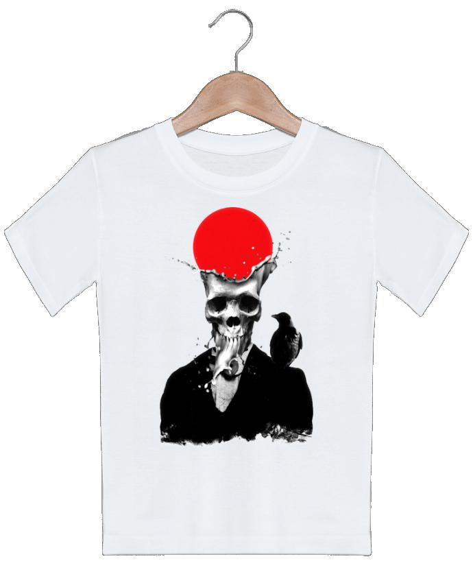 T-shirt garçon motif Splash skull ali_gulec