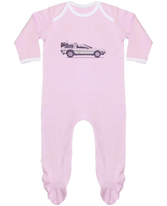 Body Pyjama Bébé Dolorean par Florent Bodart